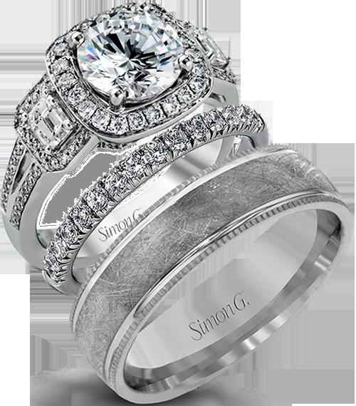Beny Sofer Parade Simon G Engagement Diamond Rings Wedding