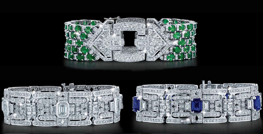 Magnum Fine Ladies Jewelry   Diamond, Emerald, Sapphire Bracelets