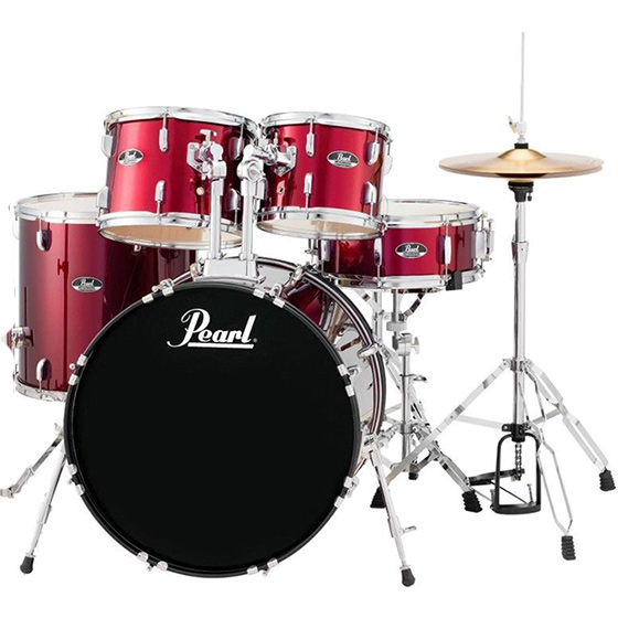 Pearl Drums and other percussion instrument can be purchased at Camel Pawn